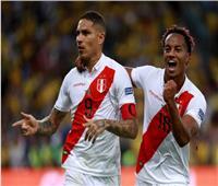 """شاهد  """"تقنية الفيديو"""" تمنح البيرو تسجيل أول هدف على البرازيل في كوبا أمريكا"""