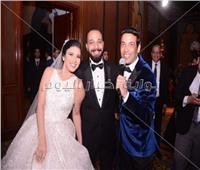 صور| سعد الصغير وأنستازيا نجما زفاف «وائل وفيروز»