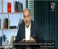 فيديو| «الباز» يكشف تفاصيل تشكيل لجنة التنمية الزراعية المتكاملة في سيناء