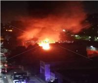 أول فيديو من موقع حريق كنيسة بحدائق القبة