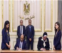 رئيس الوزراء يشهد توقيع 8 عقود لإقامة مناطق تجارية حضارية بالمحافظات