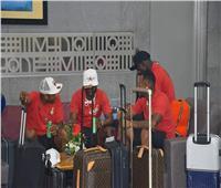 صور| منتخب غانا يغادر مطار القاهرة بعد وداع الكان