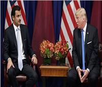 شاهد  تقرير يكشف تفاصيل استدعاء الرئيس ترامب لأمير قطر