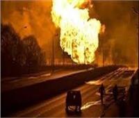 عاجل| حريق كبير في محطة لتوليد الكهرباء في موسكو