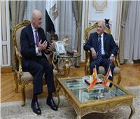 «العصار» و«سفير إسبانيا» يبحثان سبل تعزيز التعاون المشترك