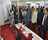 صور.. جامعة حلوان تشارك في المعرض الدولي الرابع للتعليم العالي
