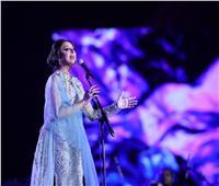أنغام تُطرب الجمهور السعودي بأغانيها المميزة