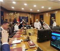 بدء المؤتمر الصحفي للإعلان عن قبول دفعة جديدة بكلية الشرطة