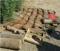 الدفاع العراقية: العثور على 11 قنبلة هاون وعبوات ناسفة تابعة لـ(داعش) بسامراء
