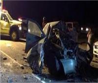 بالأسماء| إصابة 8 أشخاص في حادث تصادم سيارتي نقل جنوب المنيا