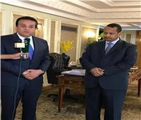 وزير التعليم العالي يلتقي القائم بأعمال سفارة السودان
