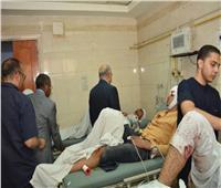 النيابة العامة تستمع لأقوال المصابين في حادث الصحراوي
