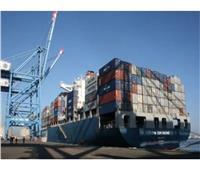 ميناء دمياط يستقبل 10 سفن حاويات وبضائع  خلال الـ24 ساعة