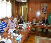 «مبارك» يبحث زيادة موارد صندوق التكافل الاجتماعي بجامعة المنوفي
