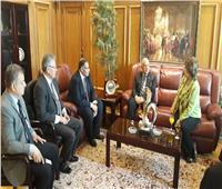 وزير الري يزور جامعة MSA لبحث التعاون المشترك