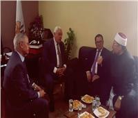 سفير كازاخستان يهنىء «العبد» باختياره أمينًا عامًا لرابطة الجامعات الإسلامية