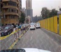 نشر الخدمات المرورية بمحيط تحويلات شارع جامعة الدول منعا للزحام