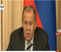 بث مباشر| مؤتمر صحفي بين وزيري خارجية روسيا وساحل العاج