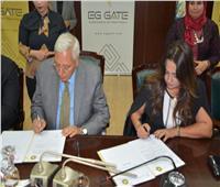 بروتوكول تعاون بين محافظة الدقهلية وإحدى الشركات الرقمية