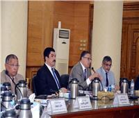 محافظ القليوبية يشارك في مجلس جامعة بنها