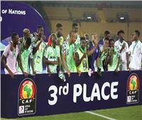 أمم إفريقيا 2019| نيجيريا تحصد المركز الثالث للمرة الثامنة في تاريخها
