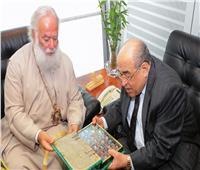 «الفقي» لبطريرك الروم الأرثوذكس: العلاقات المصرية اليونانية وطيدة