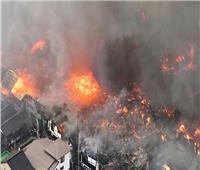مقتل 23 شخصا في حريق باستوديو رسوم متحركة باليابان