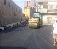 محافظ سوهاج يوجه بالانتهاء من مشروعات رصف الطرق في المواعيد المحددة