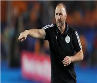 بعد إثارته للجدل.. مدرب الجزائر يؤكد: كل الاحترام والتقدير للجماهير المصرية