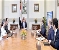 الرئيس السيسي يتابع الخطة التنفيذية لمنظومة إدارة المخلفات الصلبة