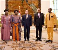 السيسى يستقبل رئيسة برلمان أوغندا.. ويؤكد دعم مصر للمسار التنموي بدول حوض النيل