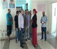 وكيل الصحة بالبحر الأحمر يتفقد مركز طب الأسرة بمرسى علم