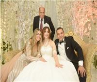 صور| مهنى وساندرا يحيان زفاف «محمد وهانيا» بحضور هشام يكن