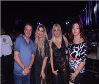 صور| أحمد سلامة وليلى غفران يحتفلان بعيد ميلاد نهال أحمد