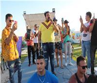 صور| إسماعيل الليثي يُلهب الأجواء بحفل «الساحل»