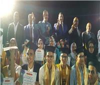 نادي الشيخ زايد يكرم 61 طالبا متفوقا في احتفالية كبرى