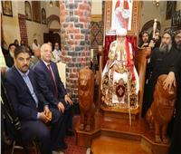 أخميم تحتفل بتجليس الأنبا «متاؤوس» أسقفا لدير العذراء مريم