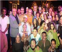 صور| وزير الثقافة تشهد مسرحية «أوبرا بنت عربي»