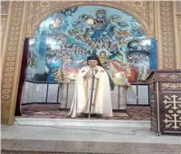 كنيسة مار مرقس بالجلاوية تكرم الأنبا يوسف