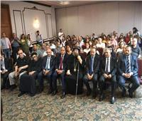 وزيرة الهجرة تلتقي الجالية المصرية في ميسيساجا بتورنتو الكندية