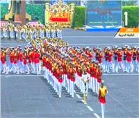 فيديو| الرئيس السيسي يشهد عرضًا للموسيقى العسكرية
