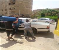 صور| حملة لمنع «التوكتوك» والأنشطة المخالفة بالقاهرة الجديدة