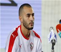 خالد بوطيب ينتظم في التدريبات الجماعية للزمالك