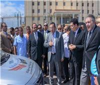 محافظ الإسكندرية يتفقد سيارات الضبطية القضائية لجهاز حماية المستهلك