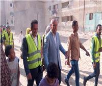لليوم الثالث.. نائب محافظ القاهرة يشارك في مبادرة «عيشة نضيفة» بالسلام