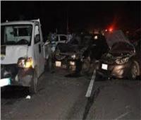 مصرع وإصابة 13 شخصا إثر حادث سير بسيوه