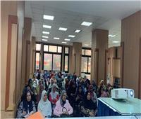جامعة عين شمس تواصل تجربتها الرائدة لرفع كفاءة موظفي المدن الجامعية