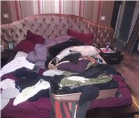 ننشر صور تكسير وسرقة شقة نجم الأهلي السابق