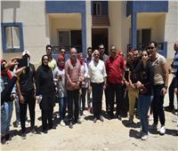 جولة تفقدية لمحافظ بورسعيد على مشروع المرحلة الثالثة للإسكان الاجتماعي