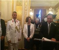 سفارة مصر بباريس تحتفل بثورة يوليو